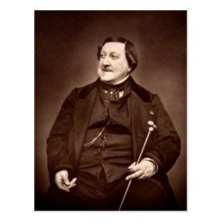 Italian Composer Gioachino Antonio Rossini Postcard