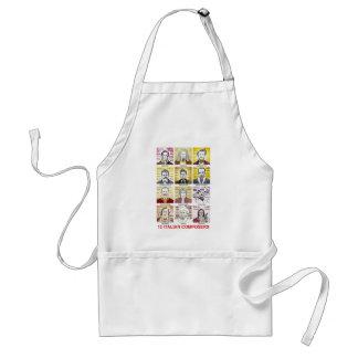 Italian composers apron