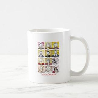 Italian Composers mug