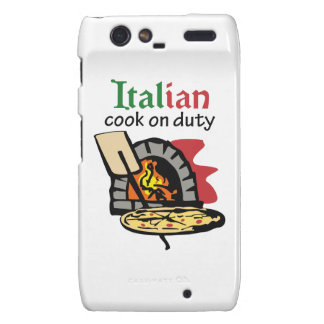ITALIAN COOK ON DUTY DROID RAZR COVER