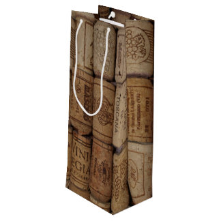 Italian Cork Collection Wine Lover Gift Bag