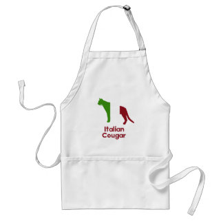 Italian Cougar Adult Apron
