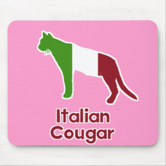 Italian Cougar Mouse Pad