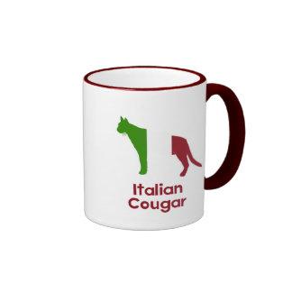 Italian Cougar Ringer Coffee Mug