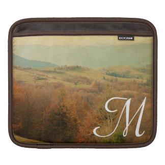 Italian Country Side Roll Monogram IPAD Laptop Bag iPad Sleeves