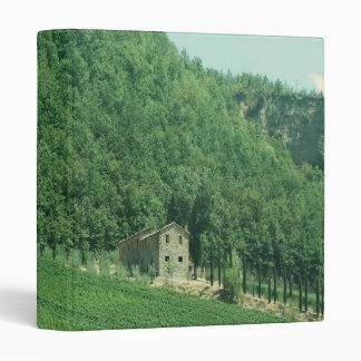 Italian Countryside Binder