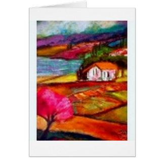 Italian Countryside Card