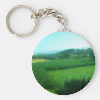 Italian Countryside Keychain