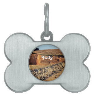 Italian Countryside Pet ID Tag