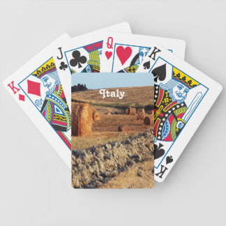 Italian Countryside Bicycle Poker Deck