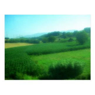 Italian Countryside Postcard