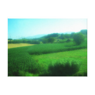 Italian Countryside Wrapped Canvas Art Canvas Print