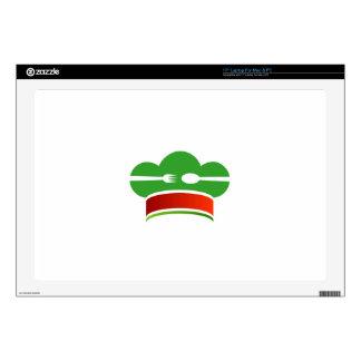 "Italian cuisine 17"" laptop skin"