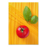 Italian Cuisine 3.5x5 Paper Invitation Card