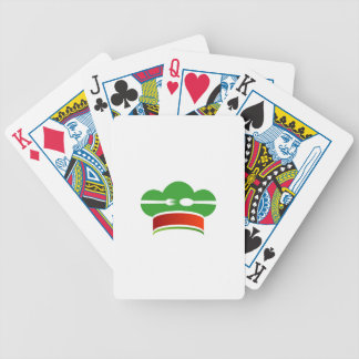 Italian cuisine bicycle playing cards