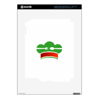 Italian cuisine decals for iPad 3
