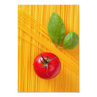 Italian Cuisine Custom Invitation