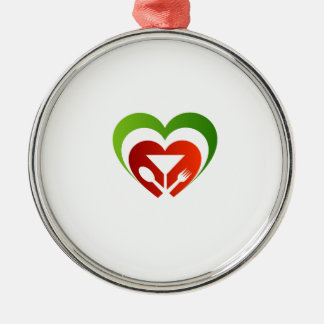 Italian cuisine metal ornament