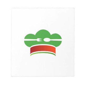 Italian cuisine notepad
