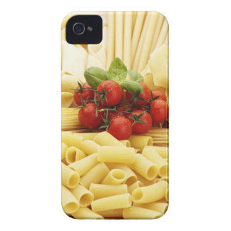 Italian cuisine. Pasta and tomatoes. iPhone 4 Case-Mate Case