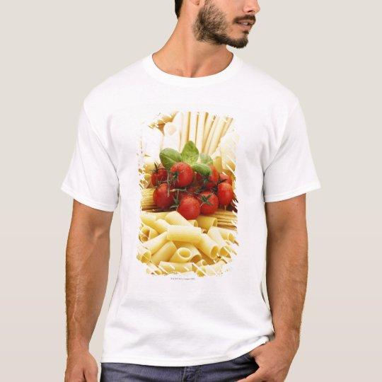 Italian cuisine. Pasta and tomatoes. T-Shirt