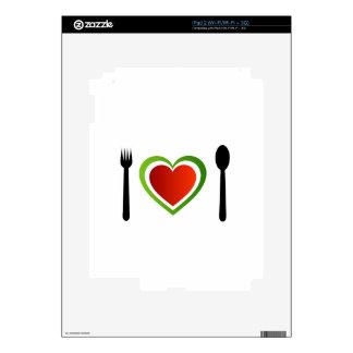 Italian cuisine decal for the iPad 2
