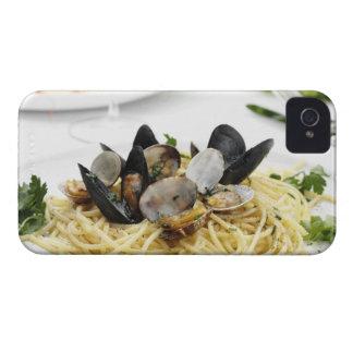 Italian cuisine. Spaghetti alle vongole. iPhone 4 Case