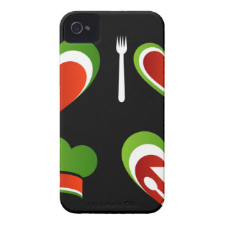 Italian cuisine symbols iPhone 4 cover