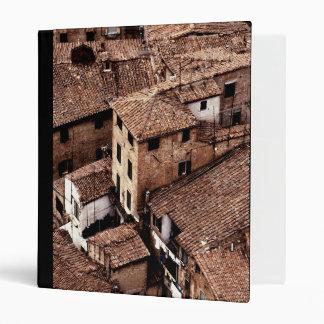 Italian Culture| Siena Rooftops Binder