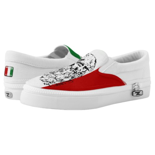 Italian da Vinci Slip-On Sneakers