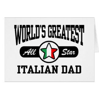 Italian Dad Card