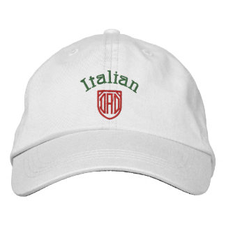 Italian Dad Embroidered Hat