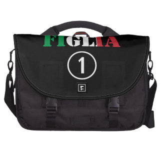 Italian Daughters : Figlia Numero Uno Laptop Commuter Bag