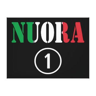 Italian Daughters in Law : Nuora Numero Uno Canvas Print