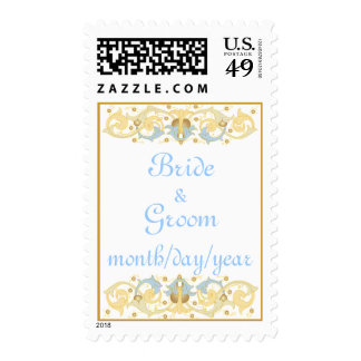 Italian Decorative Wedding Stamps