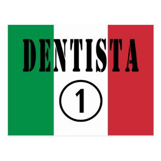 Italian Dentists : Dentista Numero Uno Postcard