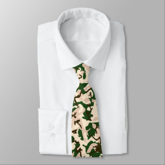 Italian Desert Camo Tie