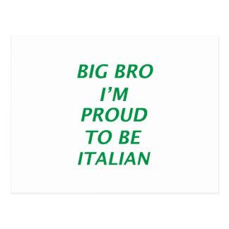 Italian design postcard