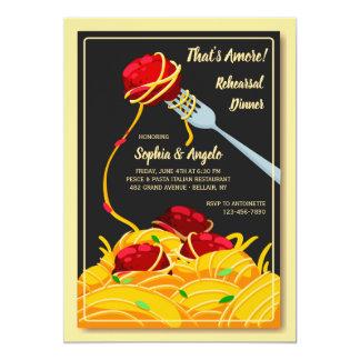 Italian Dinner Invitation
