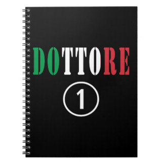 Italian Doctors : Dottore Numero Uno Spiral Notebook