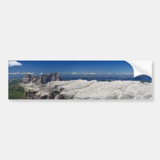Italian Dolomites - Sella Group Bumper Sticker