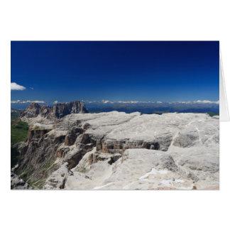 Italian Dolomites - Sella Group Card