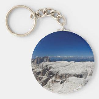 Italian Dolomites - Sella Group Keychain
