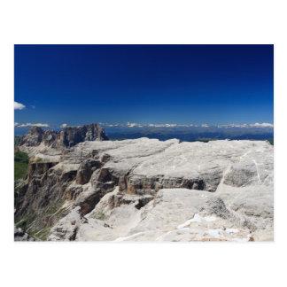 Italian Dolomites - Sella Group Postcard
