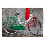 """Italian Dream"" Schwinn bicycle Greeting Card"