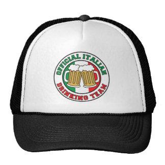 Italian Drinking Team Trucker Hat
