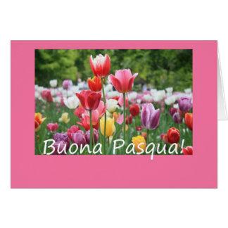 Italian Easter Tulips Card