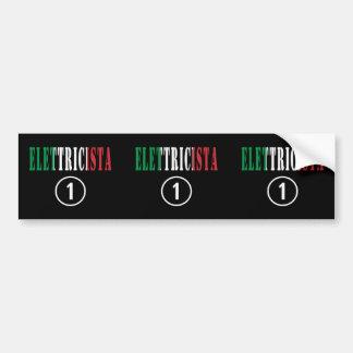 Italian Electricians : Elettricista Numero Uno Bumper Sticker