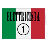 Italian Electricians : Elettricista Numero Uno Card