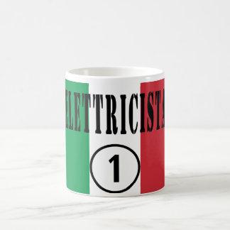 Italian Electricians : Elettricista Numero Uno Coffee Mug